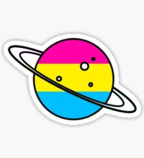 Pan Planet Sticker