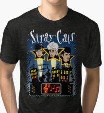 Night Cats Tri-blend T-Shirt