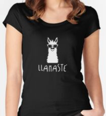 Llamaste' Women's Fitted Scoop T-Shirt