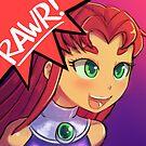 RAWR - Starfire by lumineko
