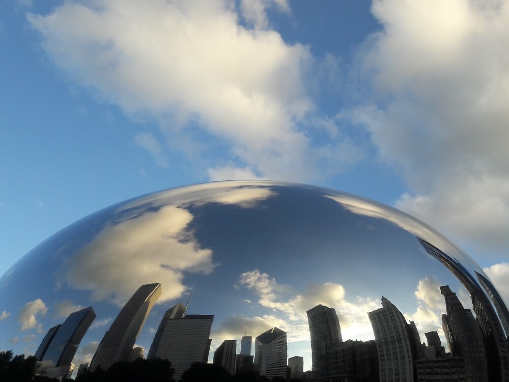 Chicago by gatheringwonder