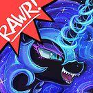 RAWR - Nightmare Moon by lumineko