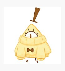 Bill Cipher wearing a sweater T-Shirt Photographic Print