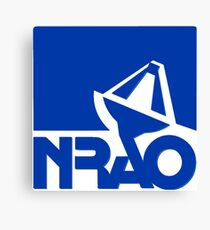 National Radio Astronomy Observatory (NRAO) Logo Canvas Print
