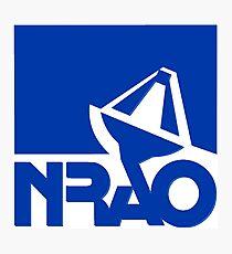 National Radio Astronomy Observatory (NRAO) Logo Photographic Print