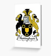 Nottingham Greeting Card
