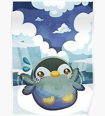 Cute Penguin Poster