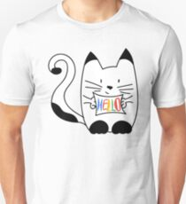 HELLO - CAT Unisex T-Shirt