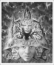 Portrait of H.R. Giger  by Joshua Levin
