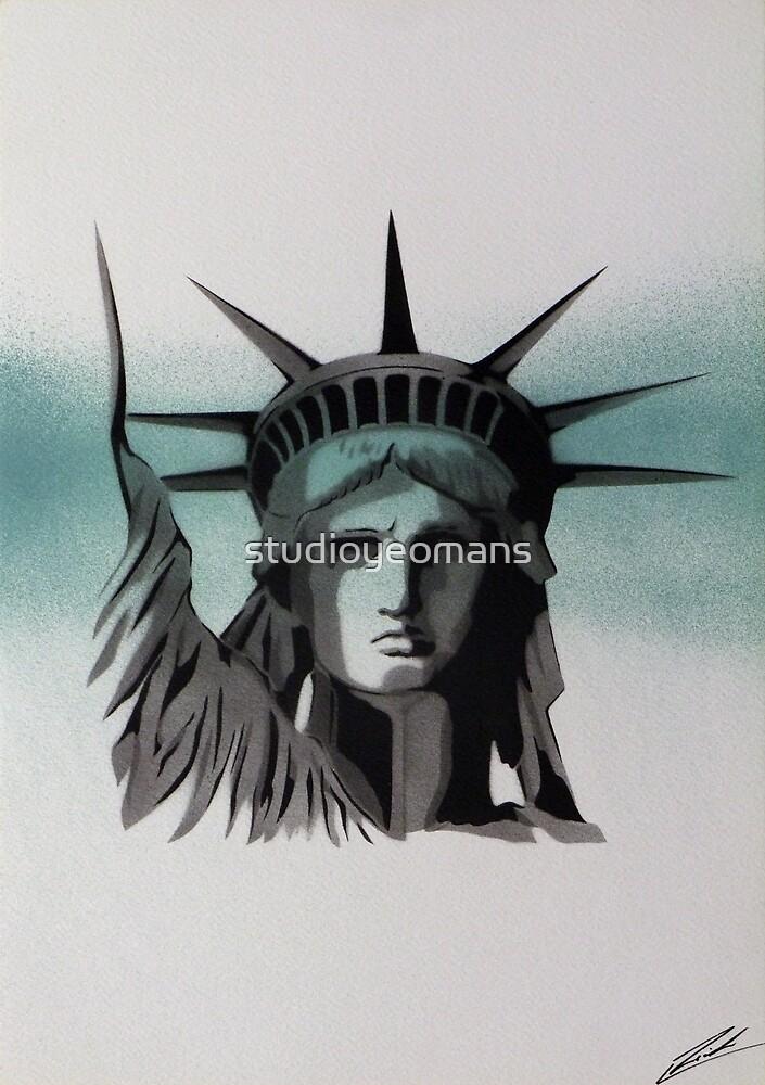 Lady Liberty II by studioyeomans