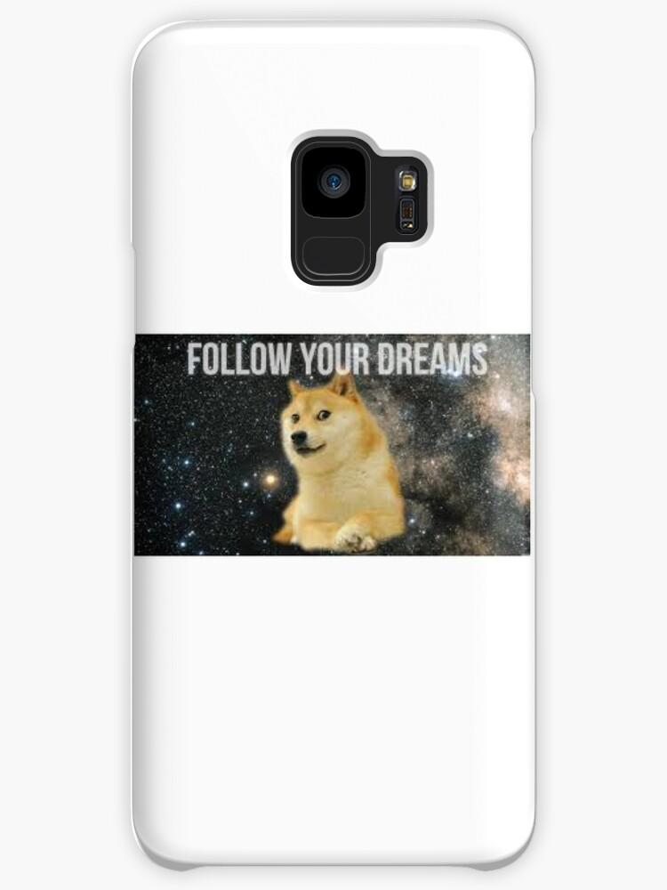 Doge Follow Your Dreams Revlo Redbubble