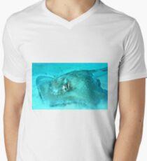 Sting Ray Men's V-Neck T-Shirt