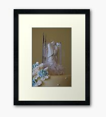 Cake Topper Framed Print