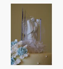 Cake Topper Photographic Print