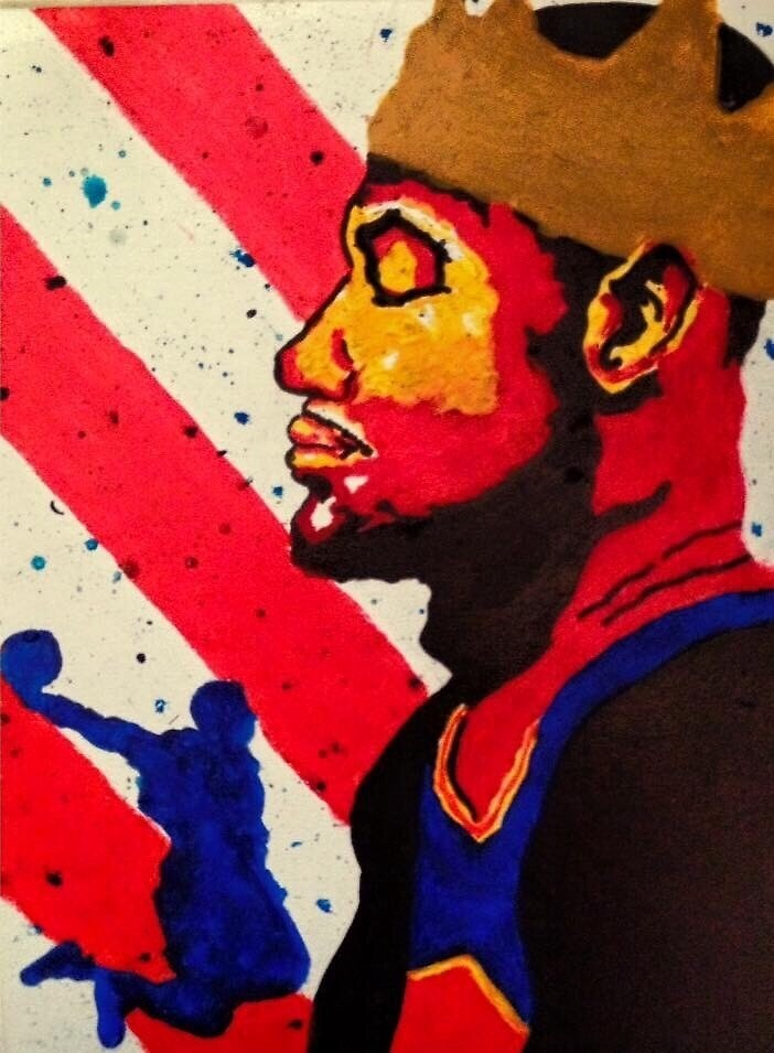 LeBron James  by Casreed
