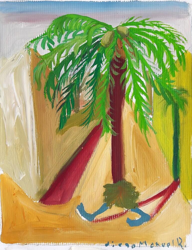 Walking palm 6 by Diego Manuel Rodriguez