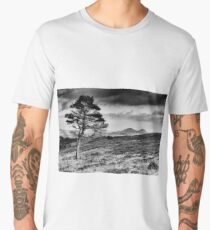Lone Tree and Eildons, Scottish Borders Men's Premium T-Shirt