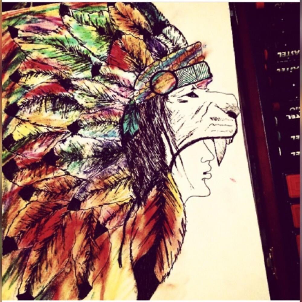 Wolf Headdress  by Casreed