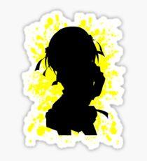 Haruhi Paint Splatter Inspired Anime Shirt Sticker