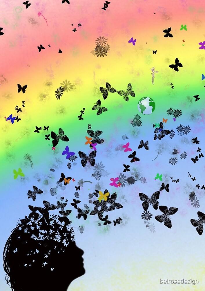 Rainbow Mind by belrosedesign