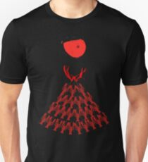 Lobster Dominance Hierarchy - Fire Red  T-Shirt