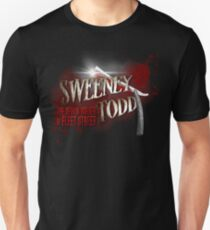 Sweeney Todd - Custom Made Products Unisex T-Shirt