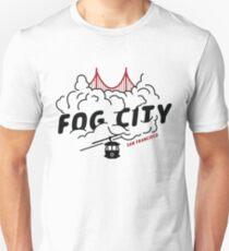 San Francisco Fog City Design Unisex T-Shirt