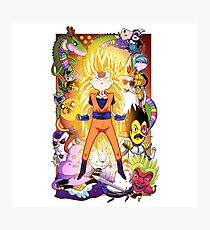Dragonball Time Photographic Print