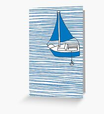 Boat Greeting Card