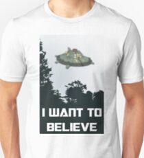 Cosmos X-files Unisex T-Shirt