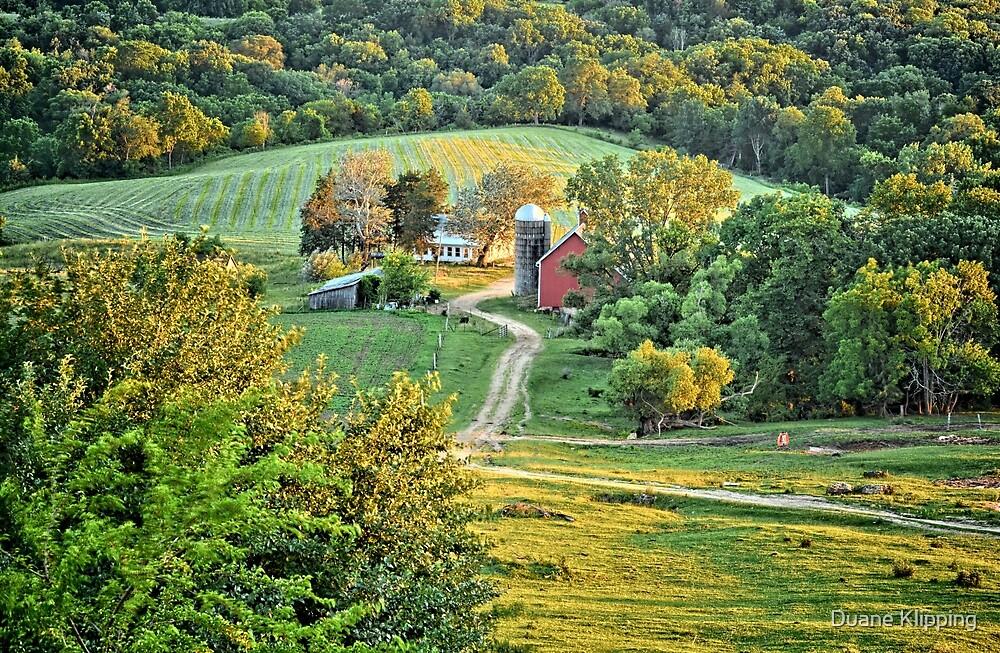 Balltown Valley Farm by Duane Klipping