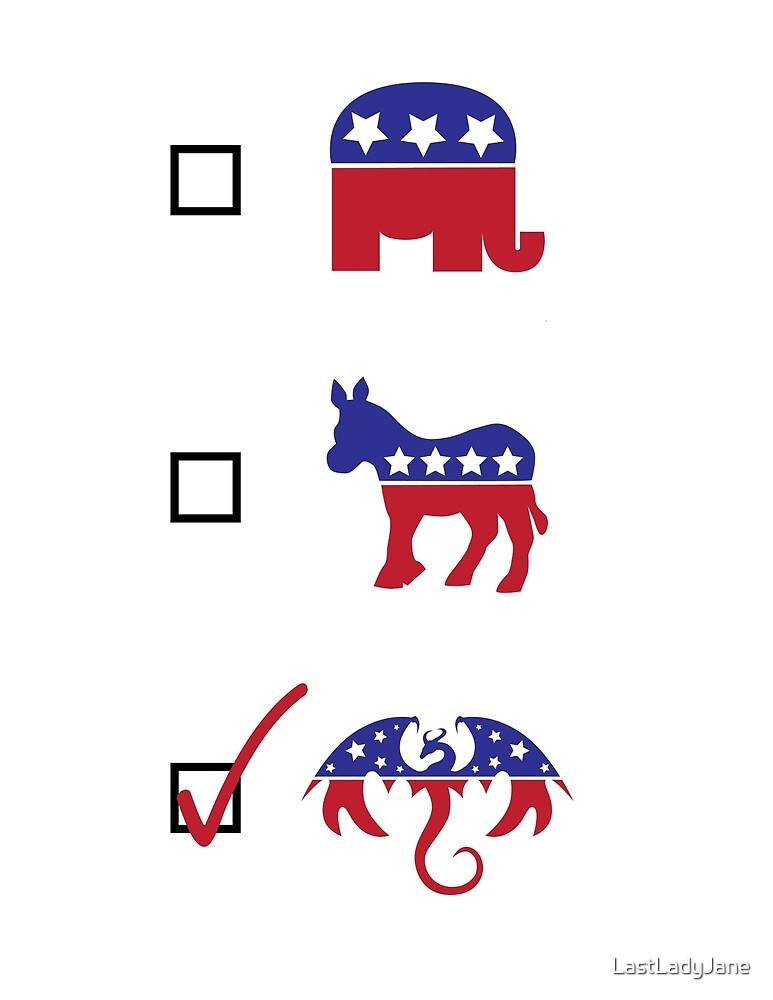 Vote Dragon! by LastLadyJane