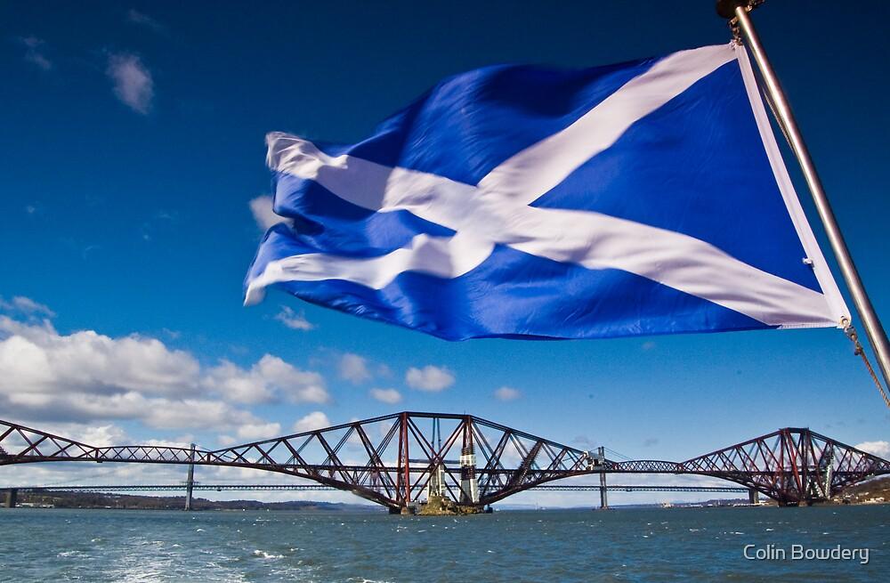 Forth Rail Bridge, Scotland by Colin Bowdery