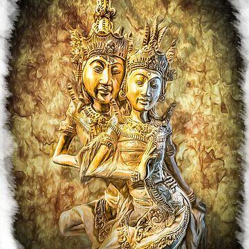 Bali Dancers by Dansun