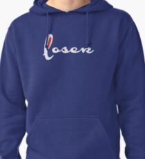 Loser (Champion Parody) WHITE Pullover Hoodie