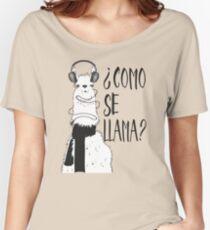 Como Se Llama? Women's Relaxed Fit T-Shirt