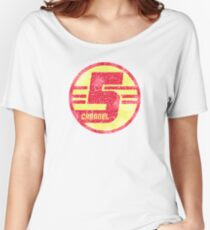 CHANNEL 5 (Tim and Eric Awesome Show, Great Job!) Women's Relaxed Fit T-Shirt