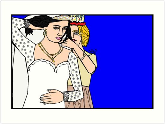 Aurora's Wedding by WDC-Art