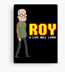 'ROY' - (Rick and Morty) Canvas Print