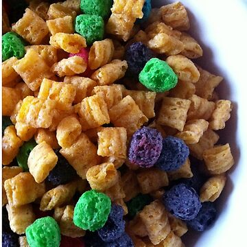 A Bowl of Cap'n Crunch with Crunchberries by mariethebee