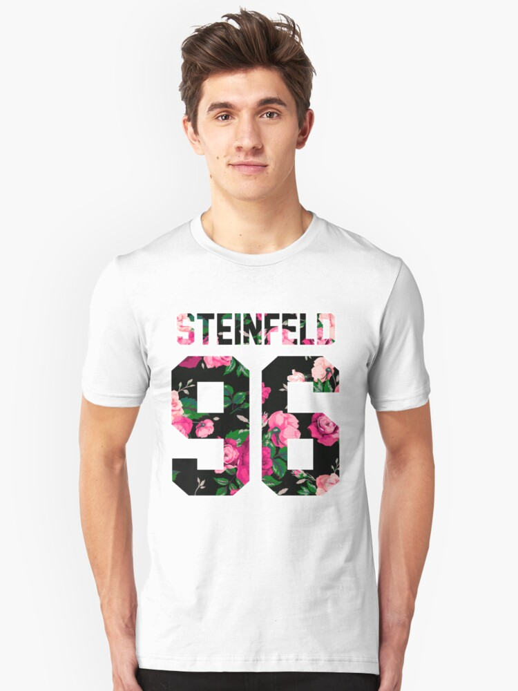 Hailee Steinfeld - Colorful Flowers Unisex T-Shirt Front