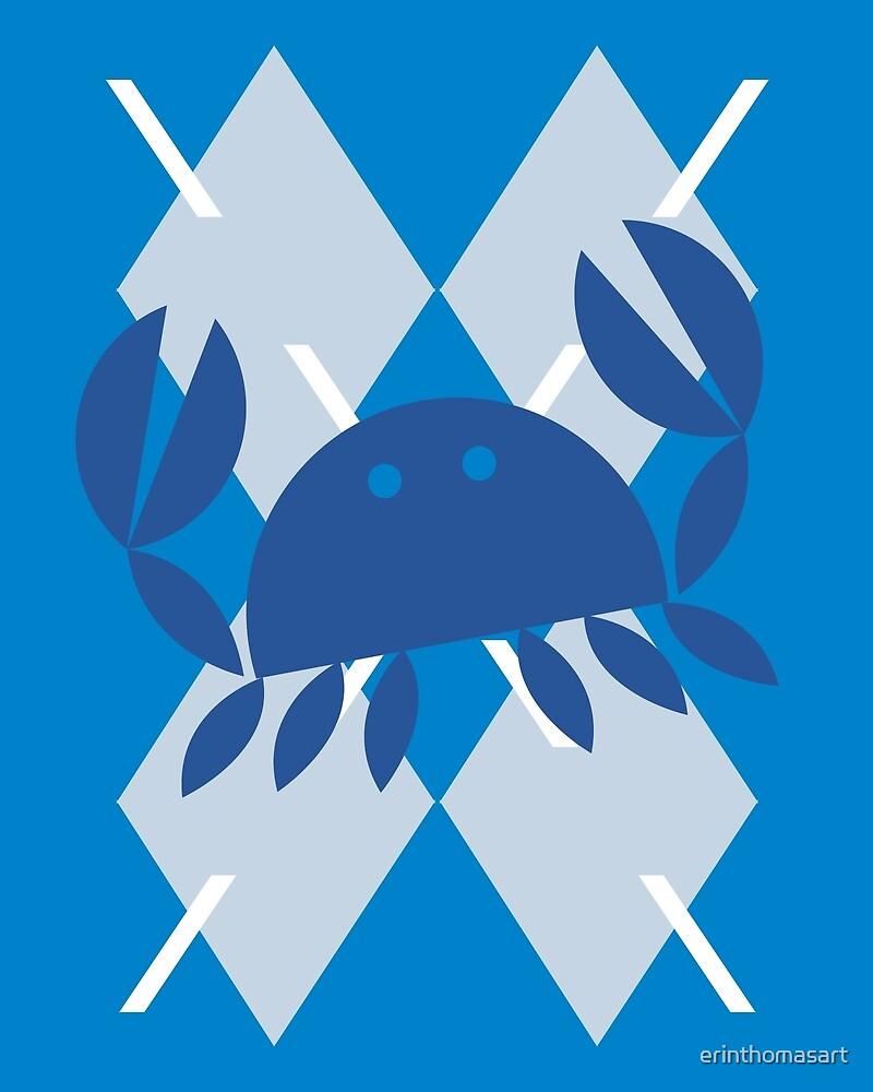 Crabby Argyle by erinthomasart