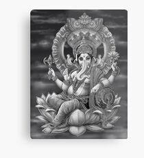 Ganesha the Great Metal Print