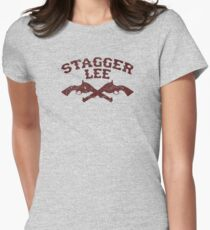 Stagger Lee - Crossed Pistols Edition Women's Fitted T-Shirt
