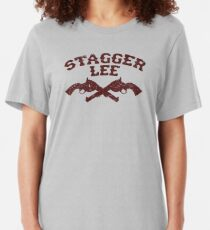 Stagger Lee - Crossed Pistols Edition Slim Fit T-Shirt