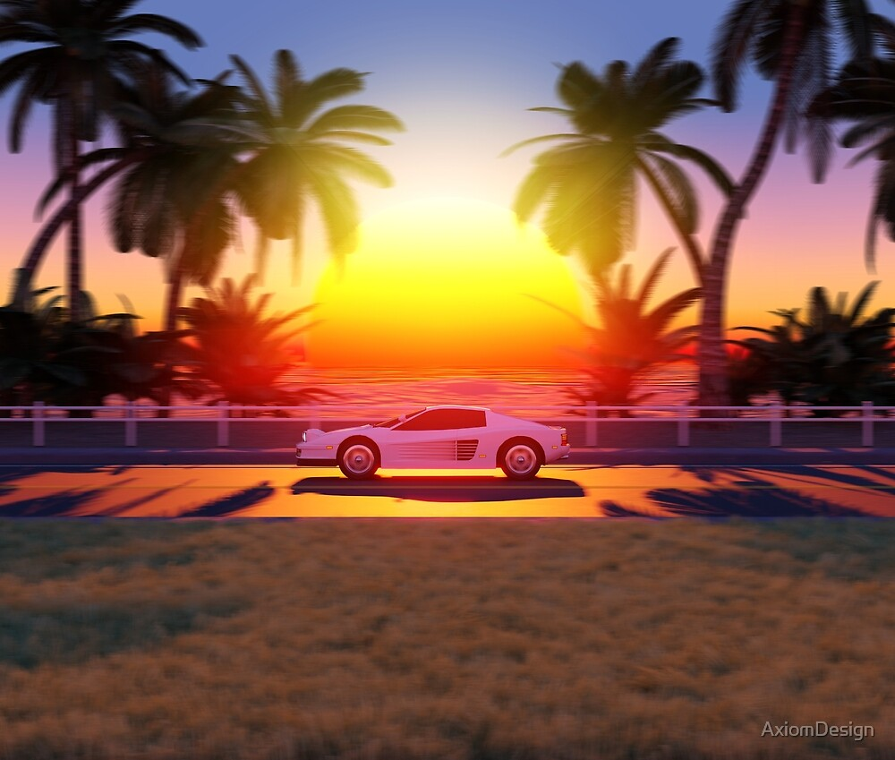 Sunset Drive by AxiomDesign