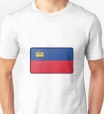 Lichtenstein Flag  Unisex T-Shirt