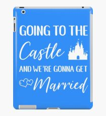 Going to the Castle iPad Case/Skin