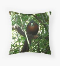"""Caught"" Throw Pillow"