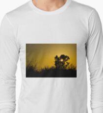 Sunset at an evening walk. Long Sleeve T-Shirt